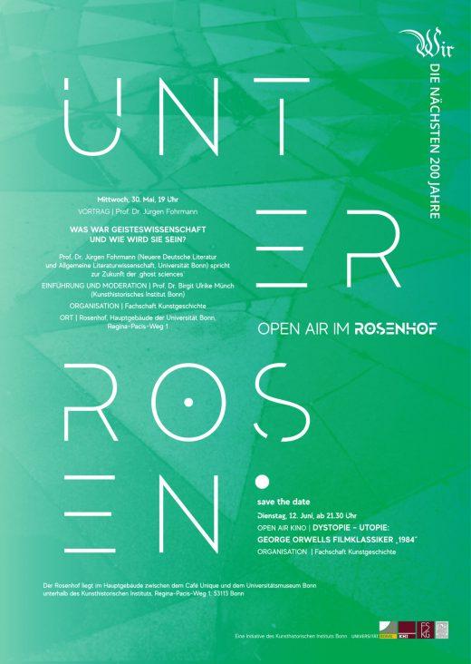 Einladung Unter Rosen - Auftakt